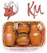 Подарочный набор из натуральной омолаживающей косметики на козьем молоке.